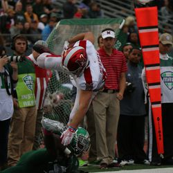 Jared Murphy making a really nice catch