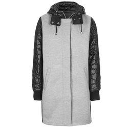 "<b>Topshop</b>, <a href=""http://us.topshop.com/en/tsus/product/clothing-70483/jackets-coats-2390895/parkas-trenches-2390918/bonded-jersey-contrast-parka-3580181?refinements=category~%5b263007%7c208640%5d&bi=1&ps=20"">$180</a>"