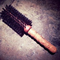 """This is a handmade, natural brush by <b><a href=""""http://ibizahair.com/index.htm"""">Ibiza</a></b> that my stylist used for my blowout. It's made from cork, wood and boar bristles. I just ordered my own from Amazon."""