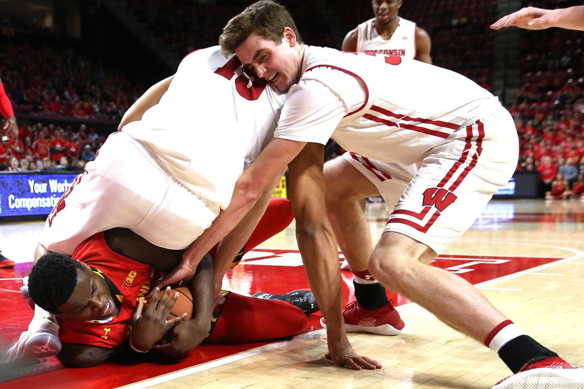COLLEGE BASKETBALL: FEB 04 Wisconsin at Maryland