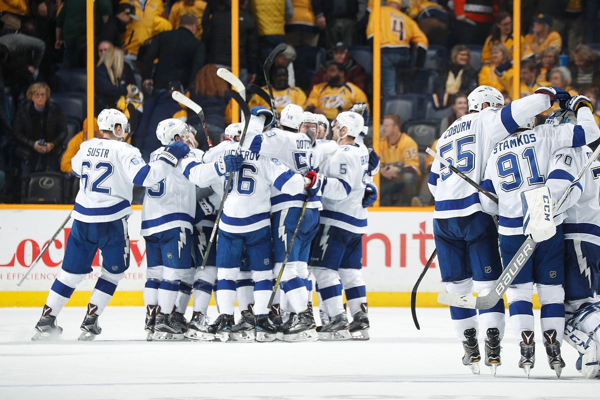 Quick Strikes Tampa Bay Lightning Lead Nhl With 69 Points Raw Charge
