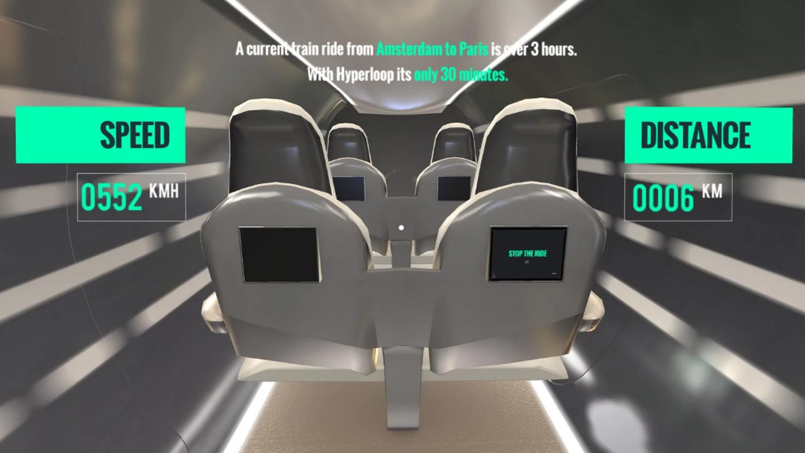 This Hyperloop VR App Is A Good Reminder Of How