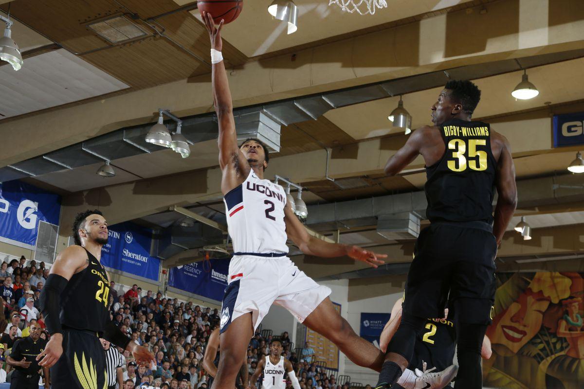NCAA Basketball: Maui Invitational- Connecticut v Oregon