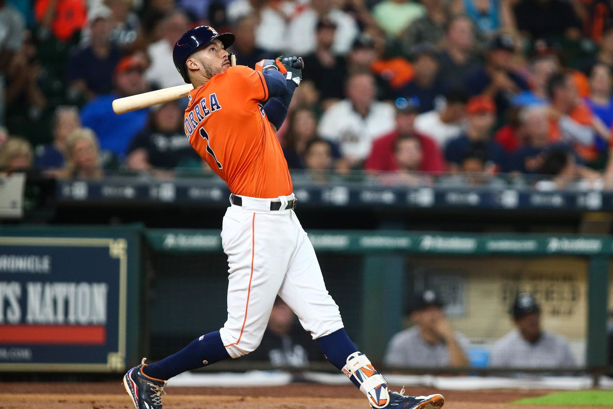 Astros Carlos Correa Out 6 8 Weeks With Thumb Injury Mlb