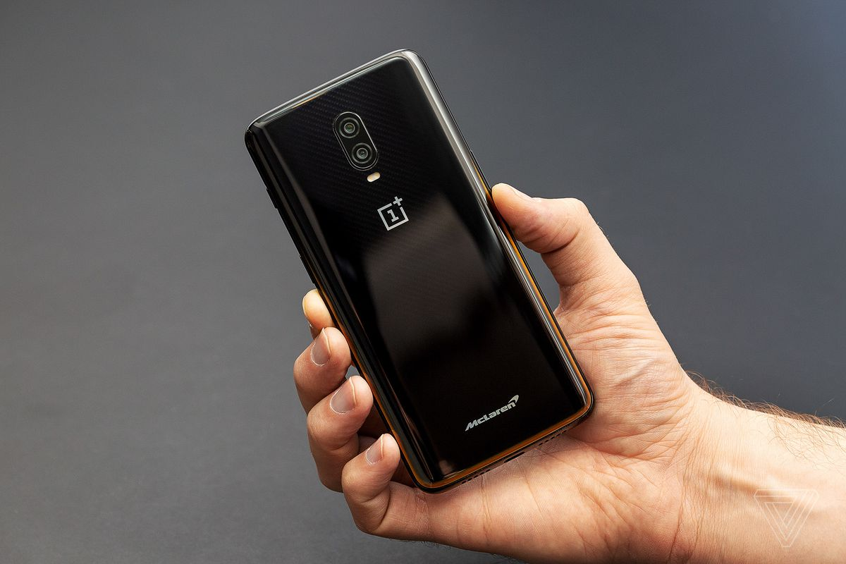 This Is The Oneplus 6t Mclaren Edition The Verge
