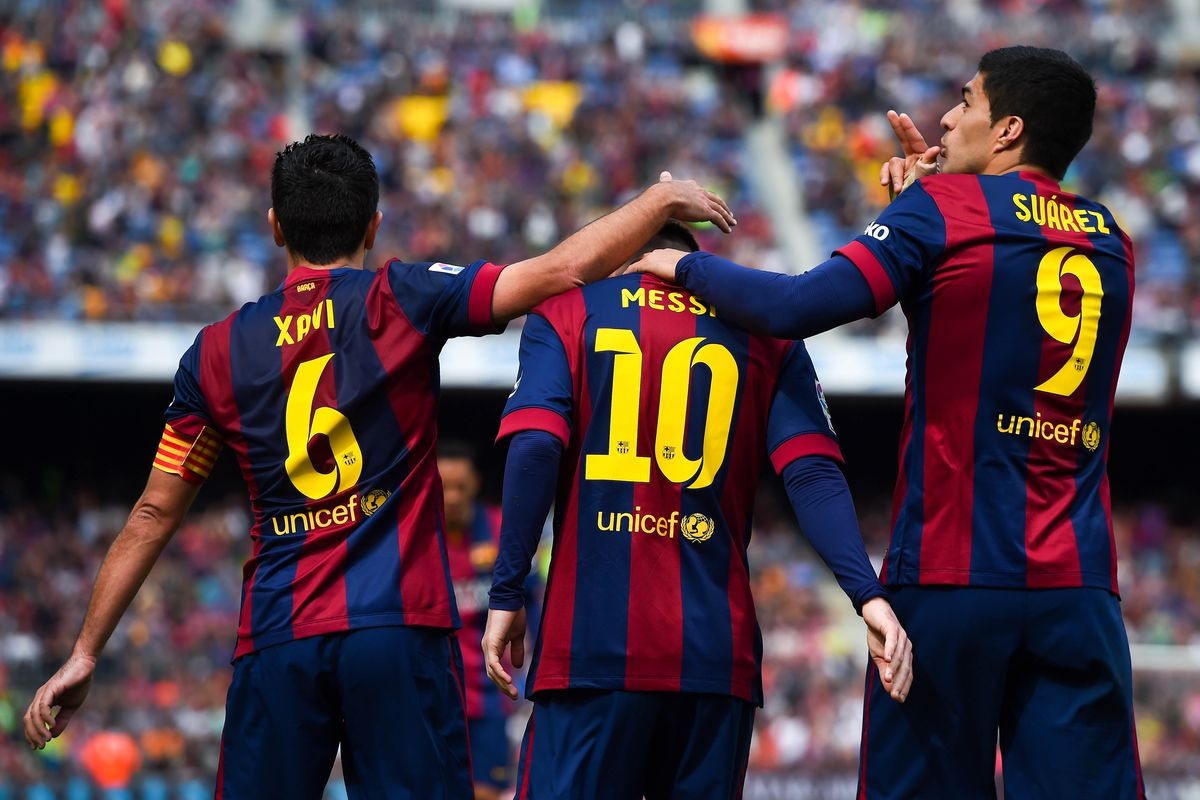 Lionel Messi Closing In On Xavi S Record At Barcelona Barca Blaugranes