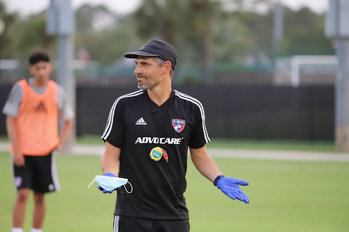 MLS:FC达拉斯培训