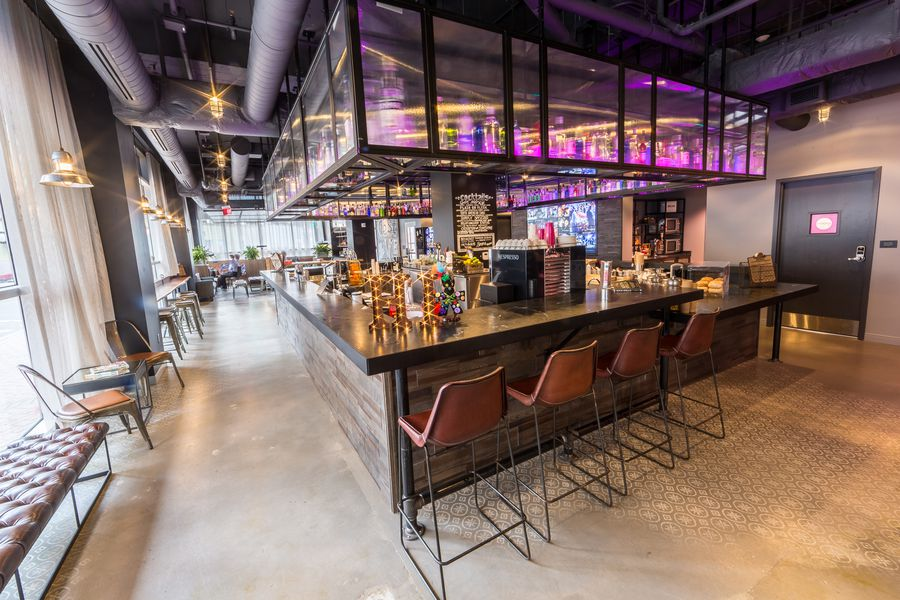 A Look Inside The Moxy Hotel Now Open In The Cbd Eater