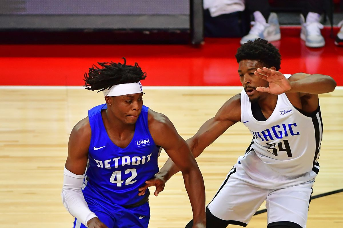 NBA: Summer League-Orlando Magic at Detroit Pistons