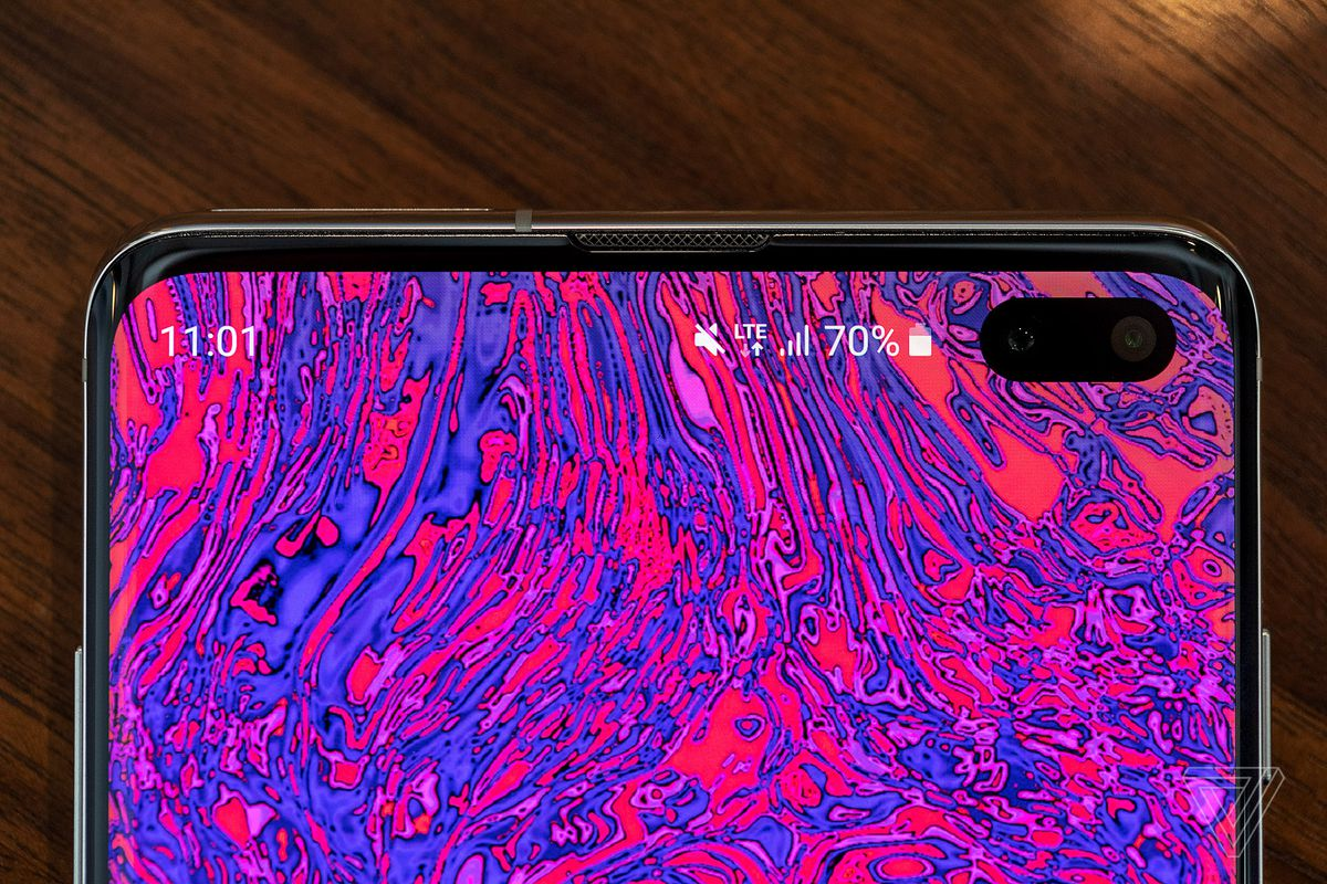 The Best Part Of The Galaxy S10 S Hole Punch Is The Potential For