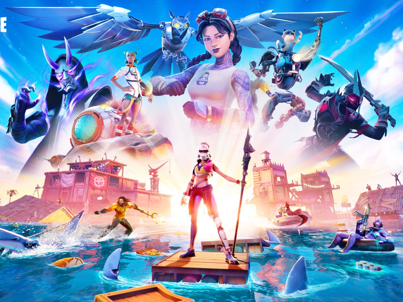 What Does Fortnite Nexus Mean A Look At Skins Leaks Trailer For Season 4 Deseret News