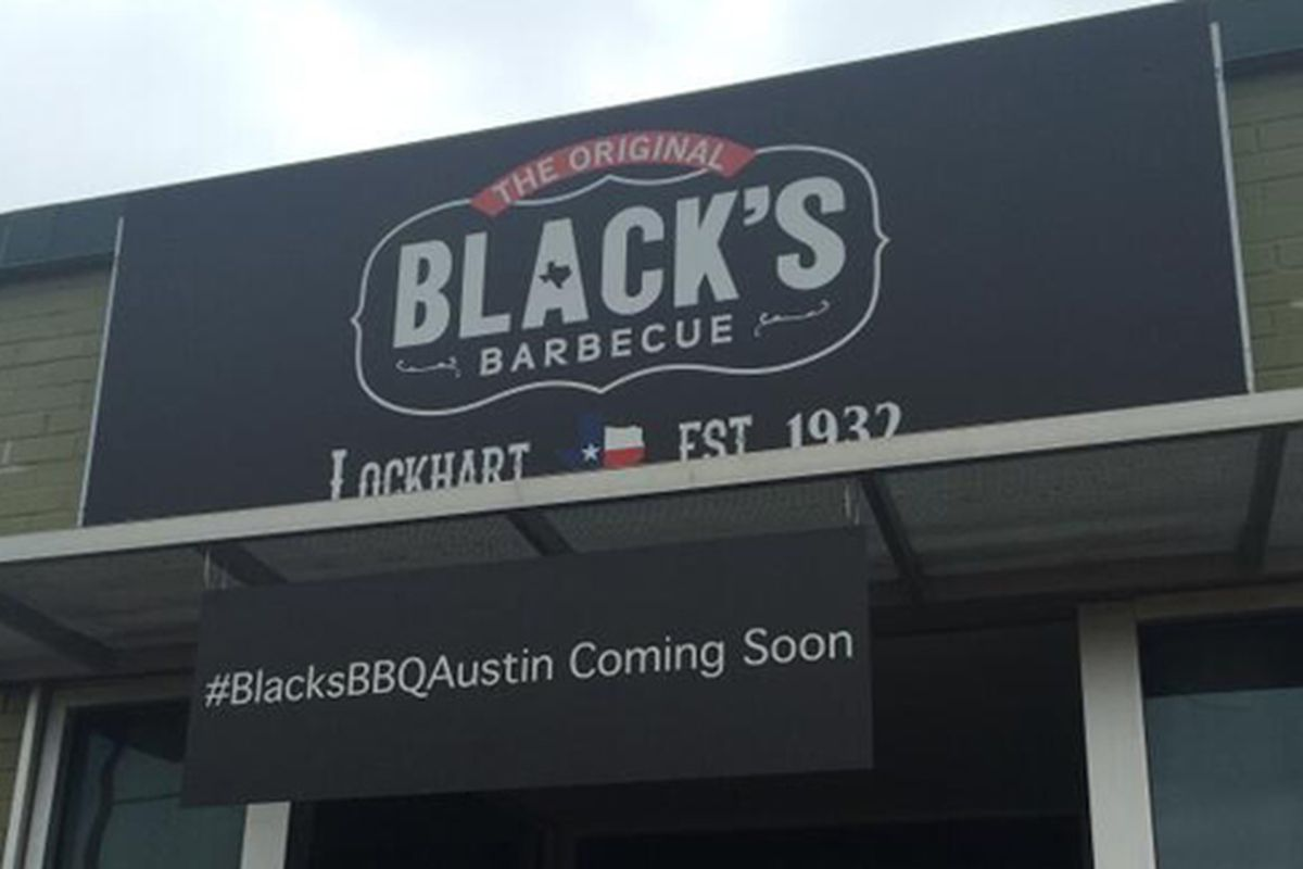 Black's Barbecue Austin.