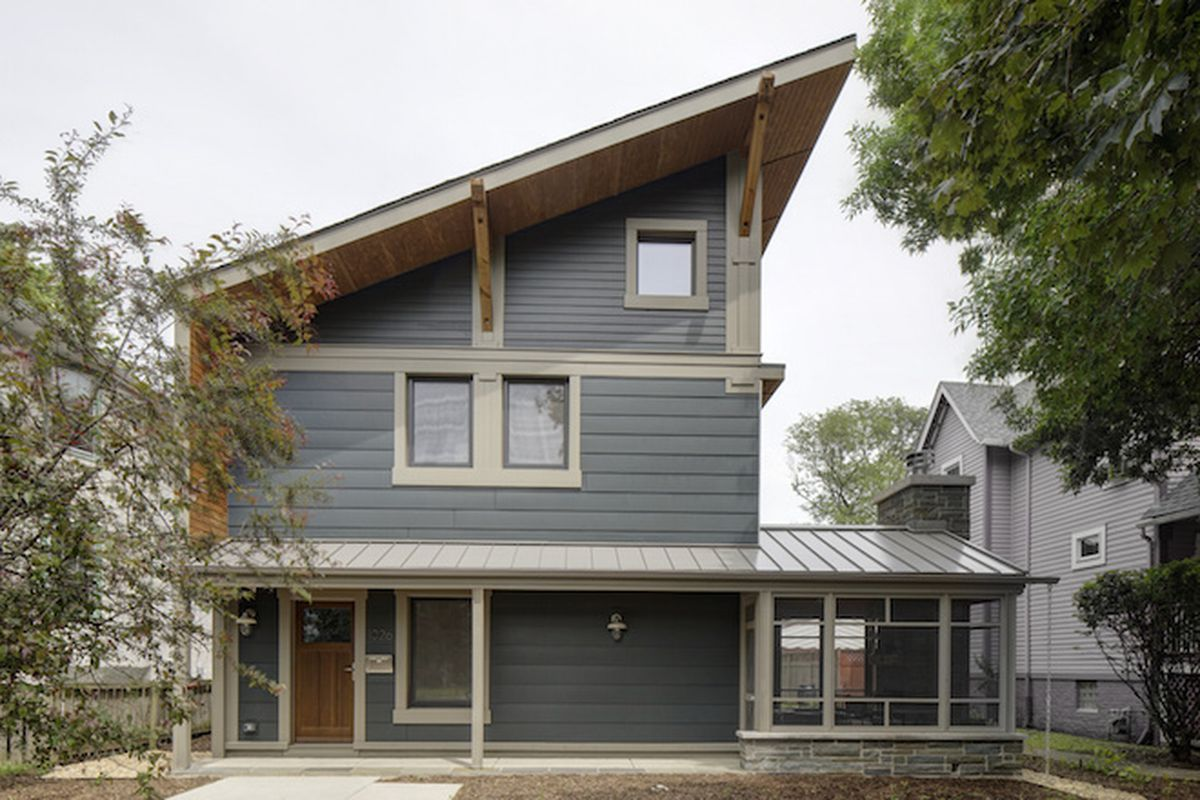 The Right-Sized Passive Home in Oak Park, Illinois. Photos by Eric Hausman.