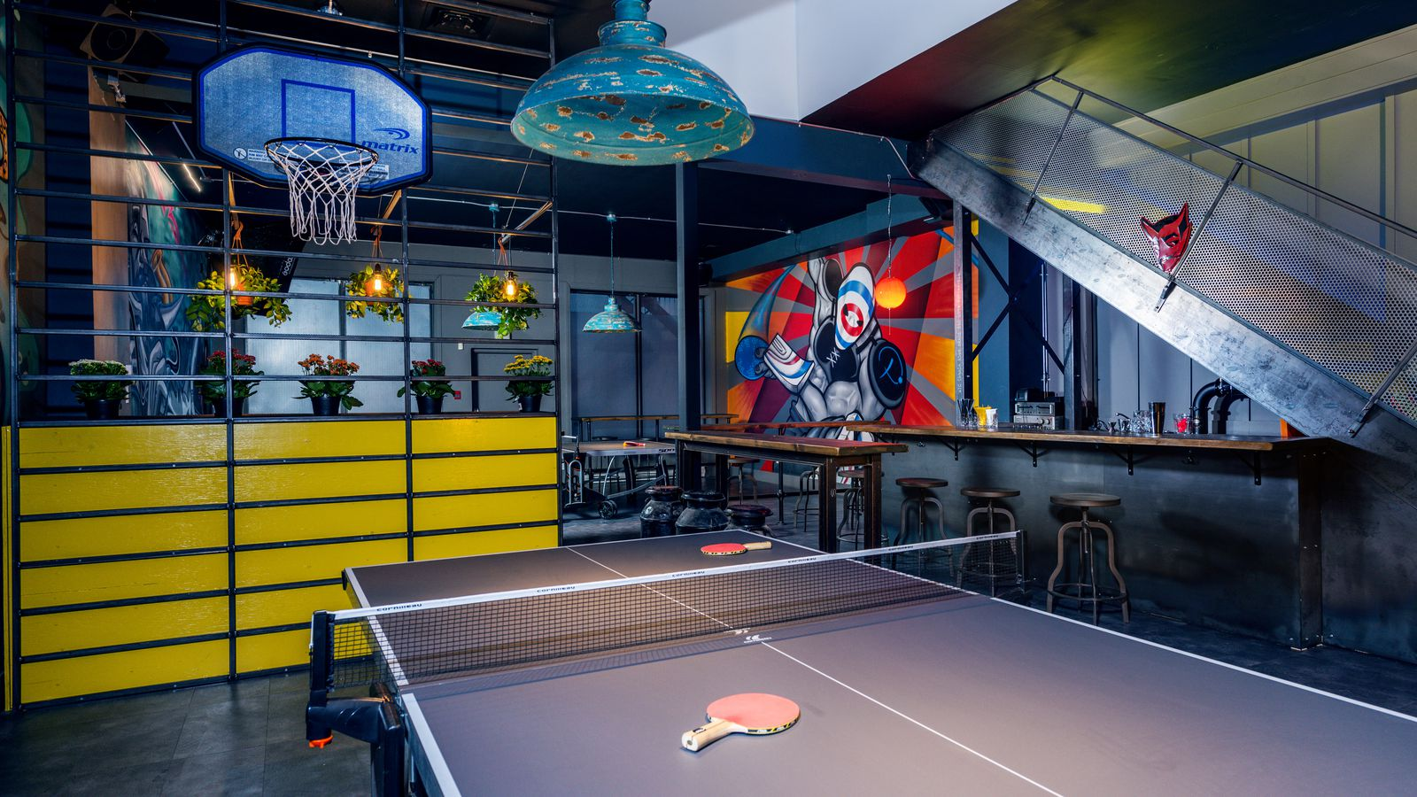 Serve's Up: Montreal's Ping Pong Bar Playground Opens ...