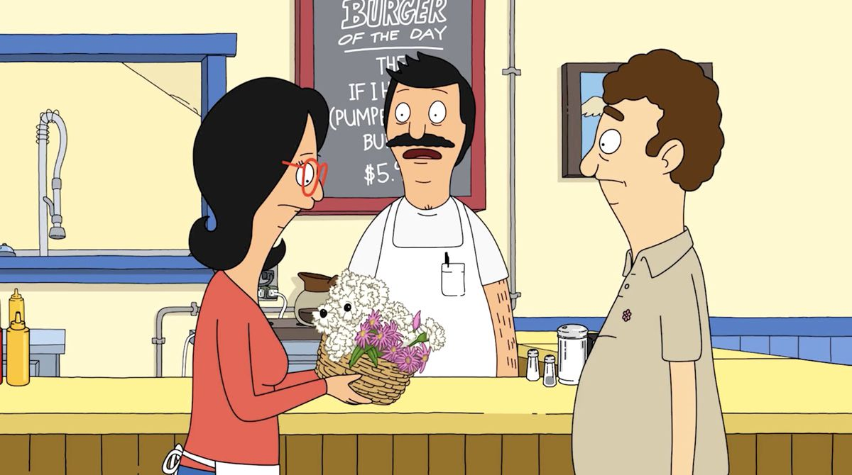 Bobs Burgers season 12: Linda and Bob get a surprise delivery of flowers