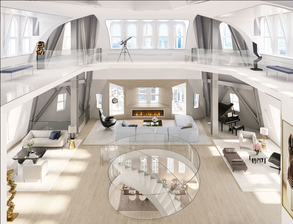 Woolworth Building's $79M penthouse gets first renderings ...