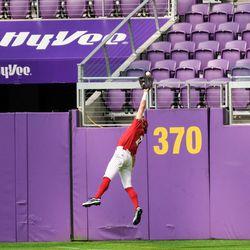 An amazing catch!