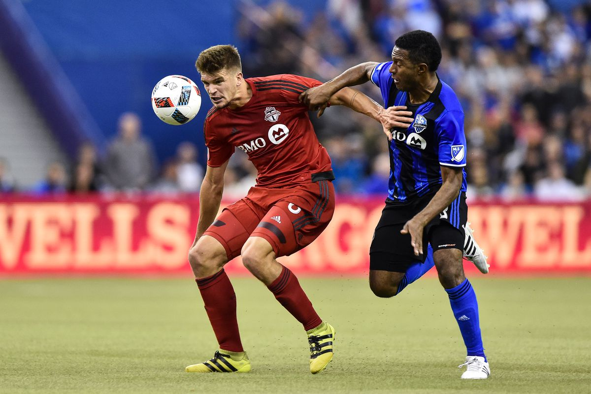 Toronto FC v Montreal Impact - Eastern Conference Finals - Leg 1