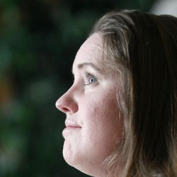 Jennifer Graves answers questions during an interview at her home in West Jordan on Monday, April 30, 2012.