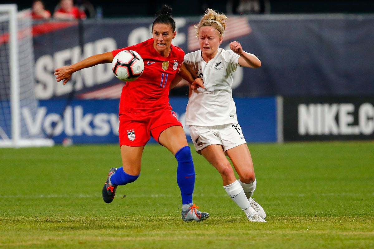 a95d5e925 Ali Krieger keeps it lowkey on her 100th cap - Stars and Stripes FC