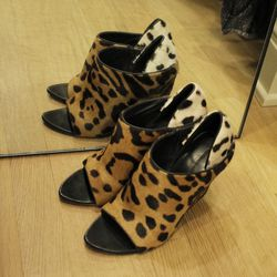 """Alexander Wang Alla wedge mules, $893. """"I love these shoes, but I wish they were more comfortable."""""""
