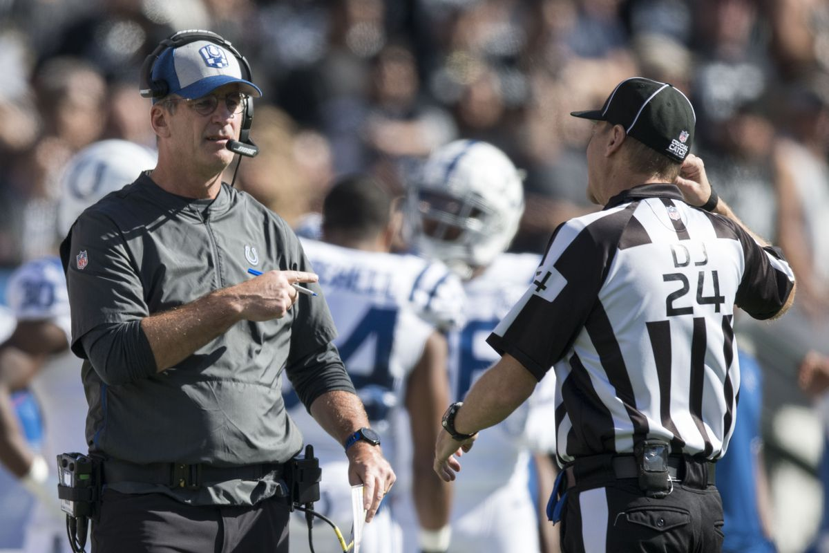 NFL: Indianapolis Colts at Oakland Raiders