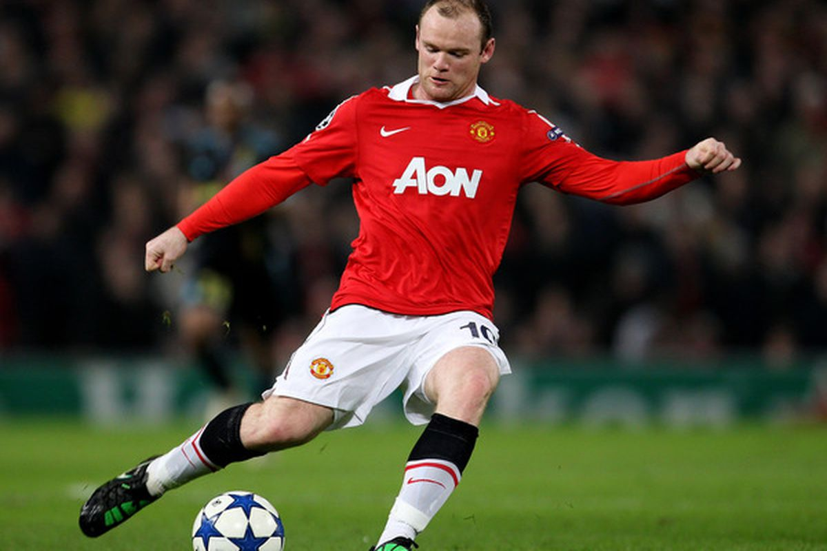 Wayne Rooney and Manchester United have thrived in recent months since the attacker has played in a free and playmaking role.  (Photo by Alex Livesey/Getty Images)