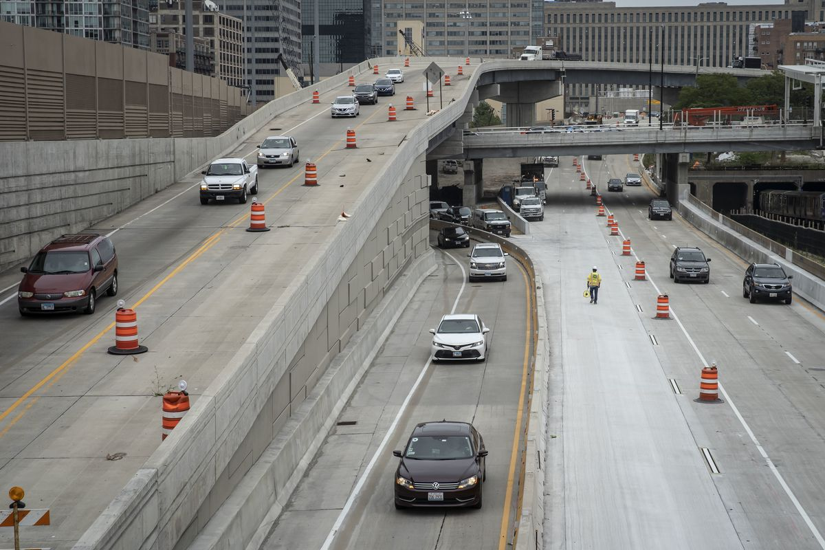 Expect temporary delays on Jane Byrne Interchange through