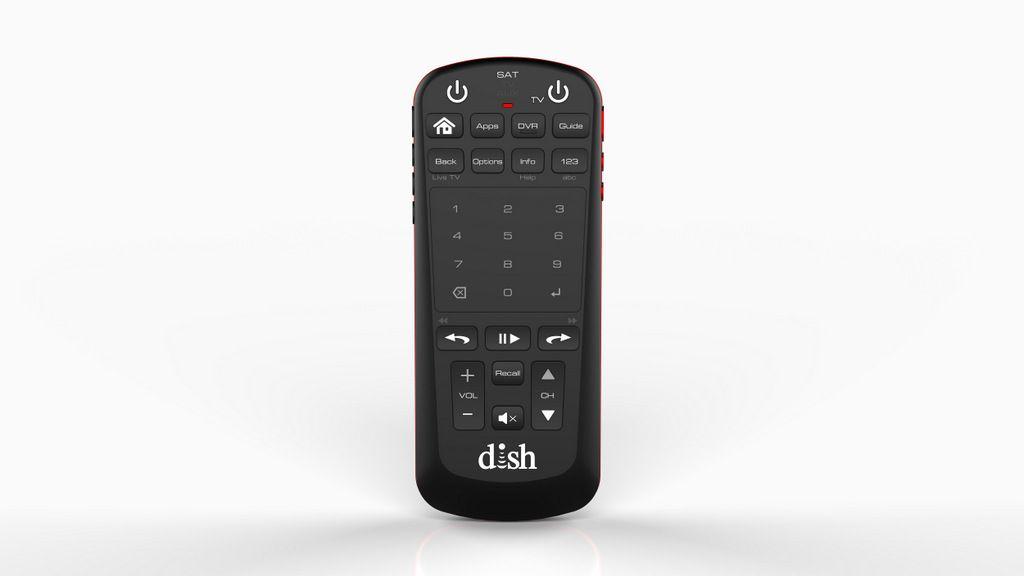 New Dish voice remote