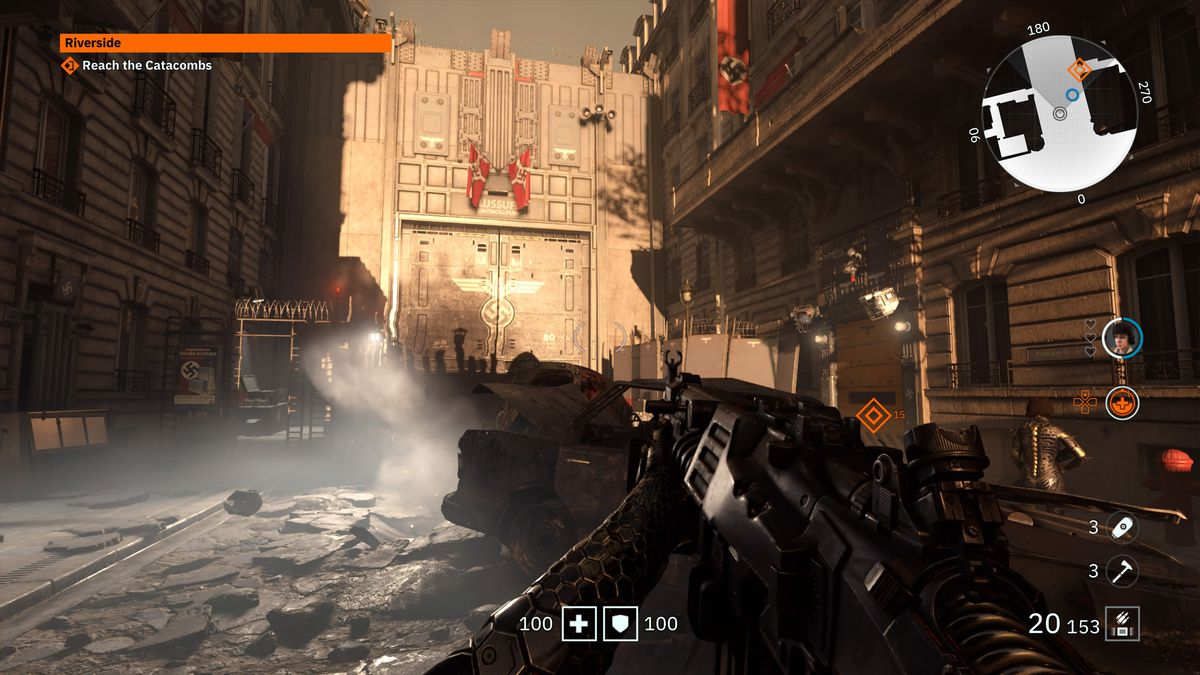 Wolfenstein 2 Subway Map.Wolfenstein Youngblood 3d Glasses Map And Locations Polygon