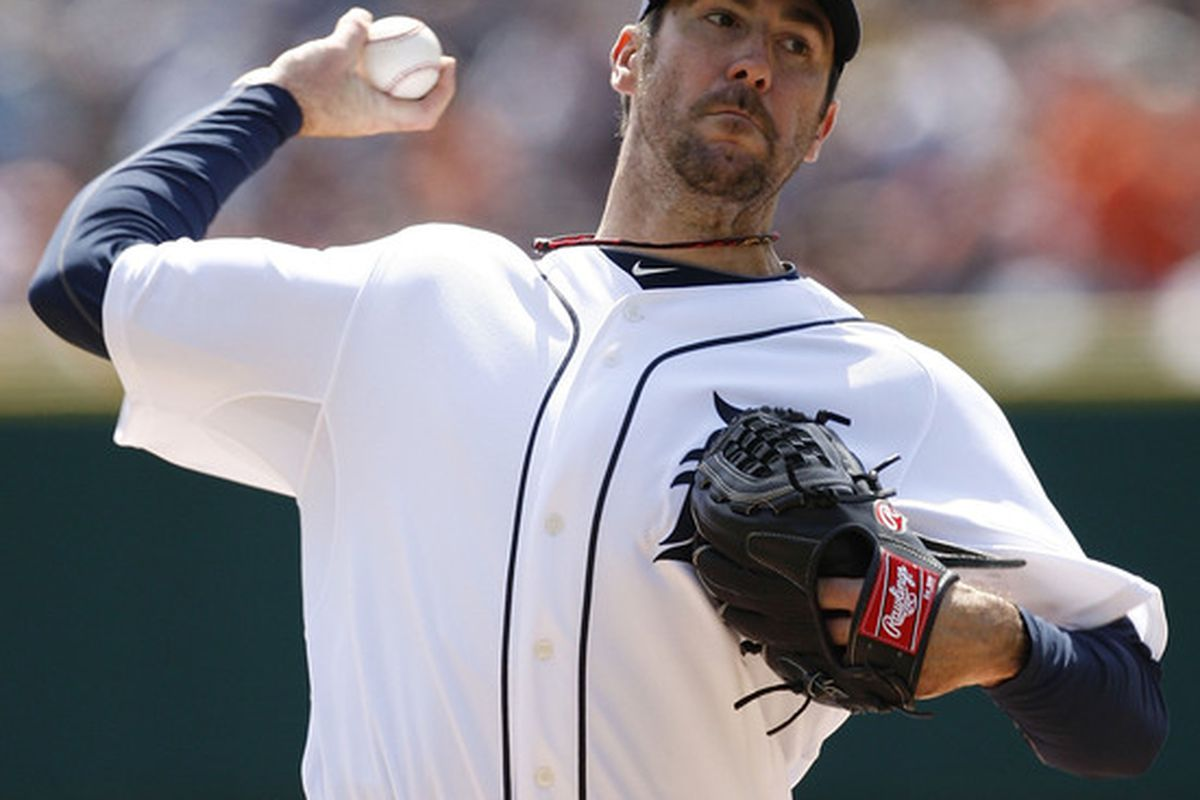 Justin Verlander gave up a grand slam in the first but the Tigers won 9-8 anyway