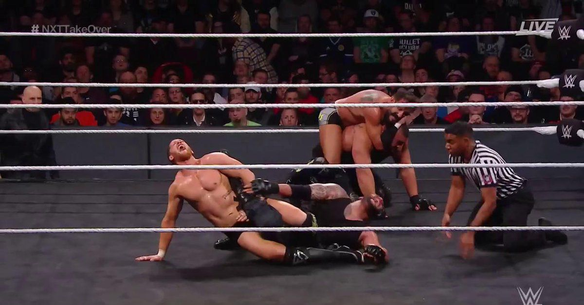 wwe nxt takeover toronto на русском языке