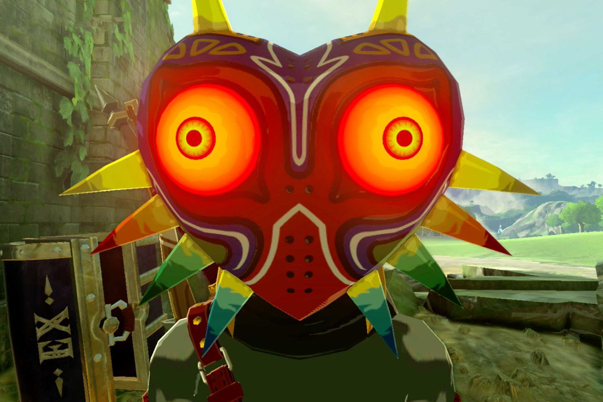 Beach Majora S Mask