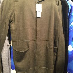 Men's sweater, size small, $139 (from $335)