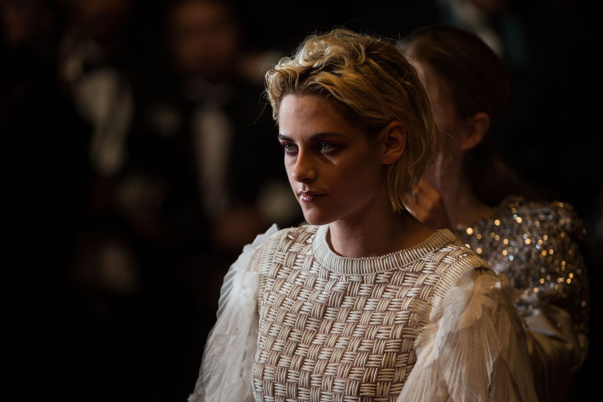 Kristen Stewart attends the Personal Shopper premiere at the 2016 Cannes Film Festival.