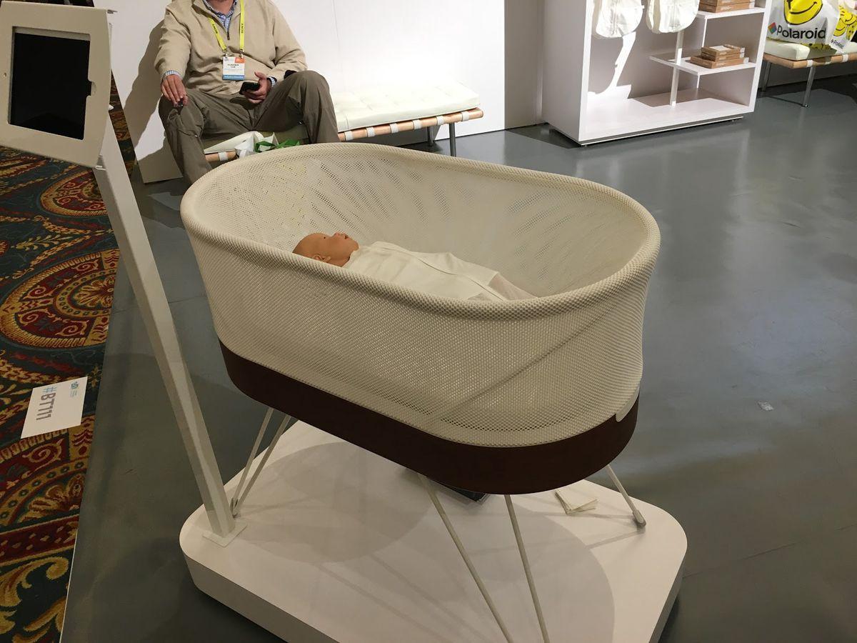 The SNOO smart crib (MollyMcHugh)