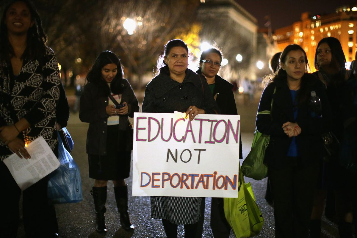 Activists Hold Vigil In Support Of Immigrant Children At White House