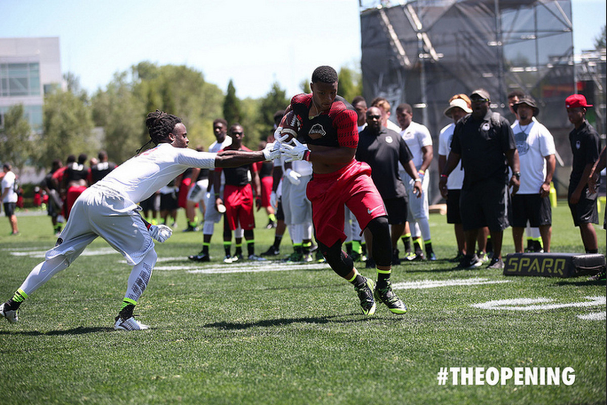 Penn State commit RB Saquon Barkley at The Opening