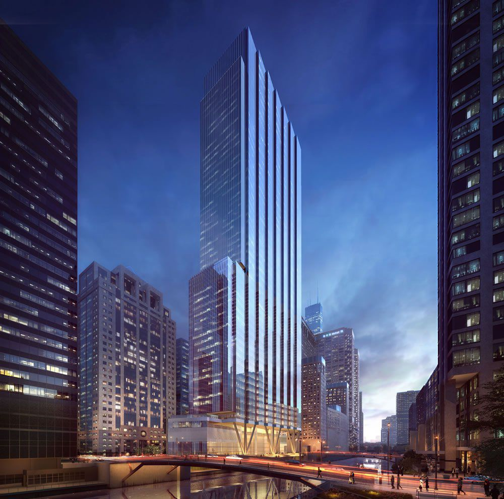 Construction update: Wacker Drive office tower ready to rise