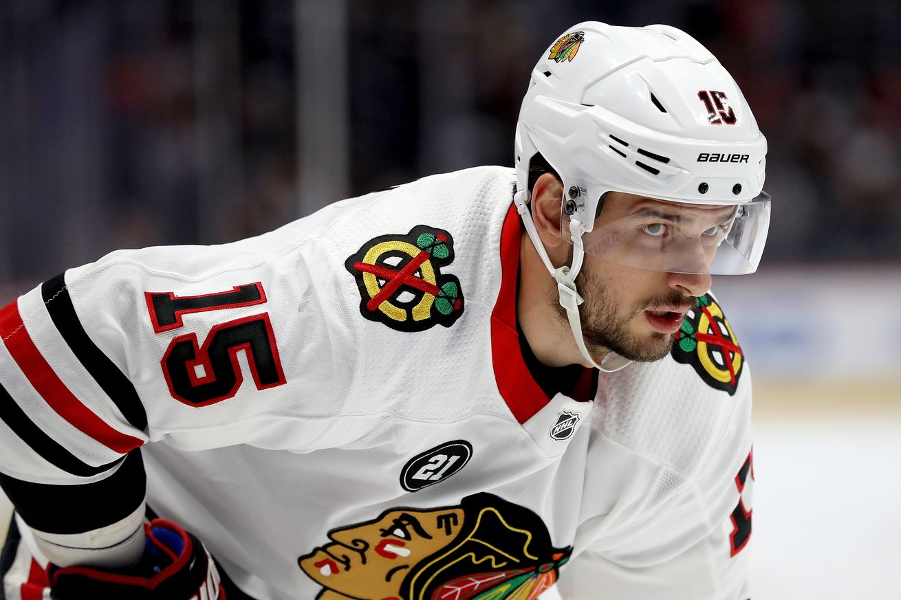 Blackhawks trying to trade Anisimov, per report