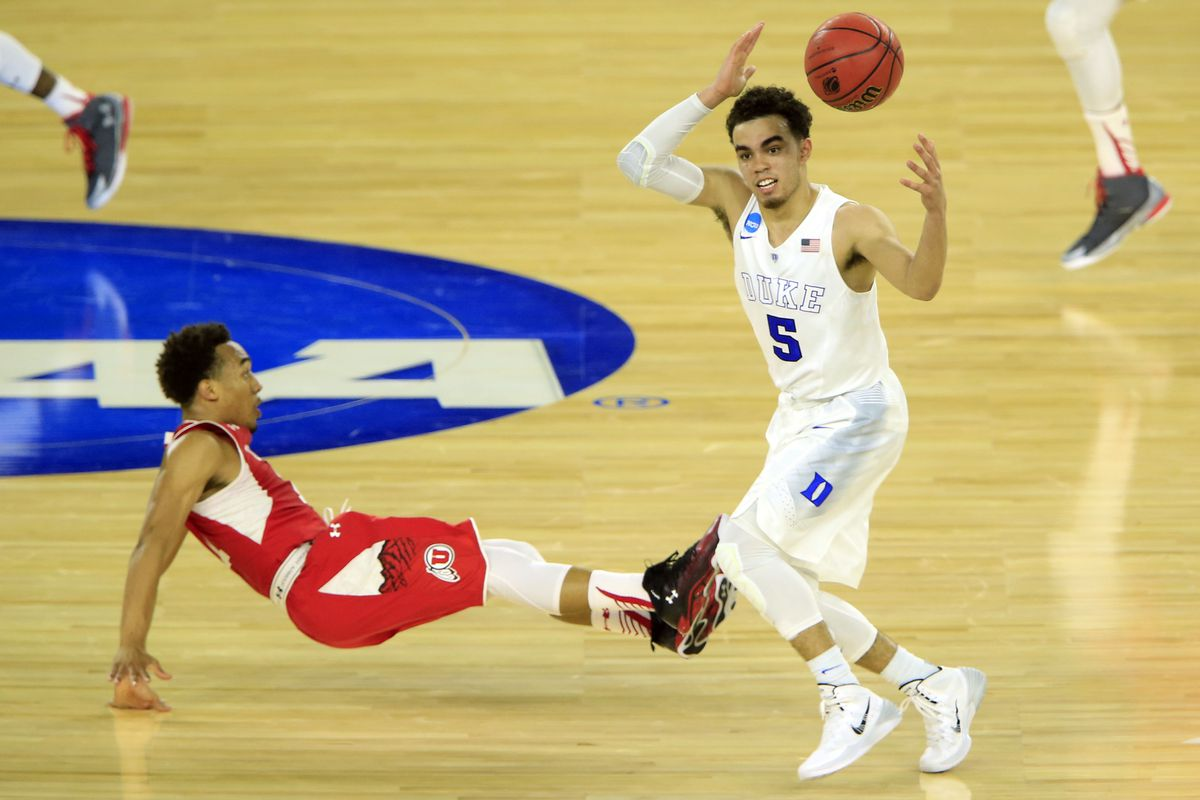 The Runnin' Utes fell to Duke in the Sweet Sixteen of the 2015 NCAA Men's Basketball Tournament Friday 63-57.