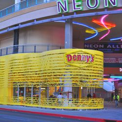 The Downtown flagship Denny's diner.