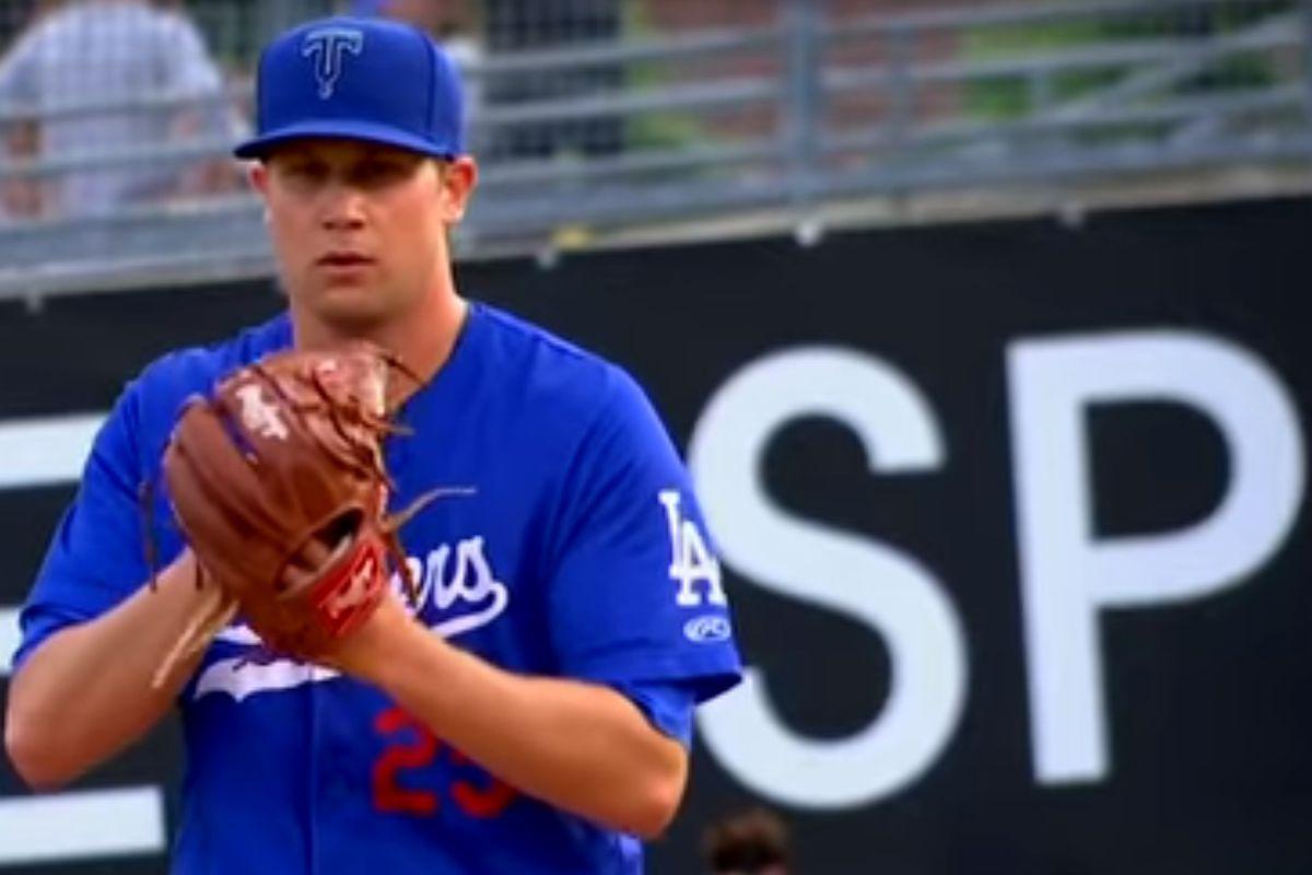 Dodgers RHP Brock Stewart