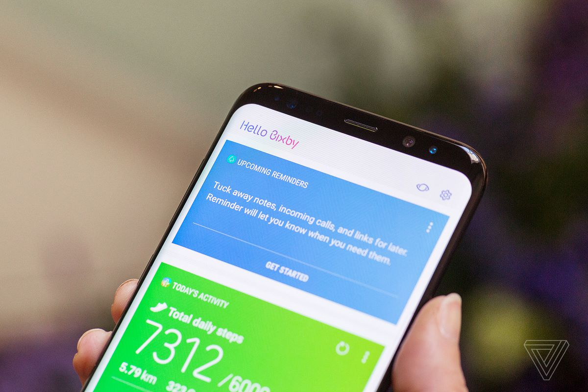 Samsungs biggest challenge now is google software not apple samsung galaxy s8 photo by vjeran pavic the verge malvernweather Gallery