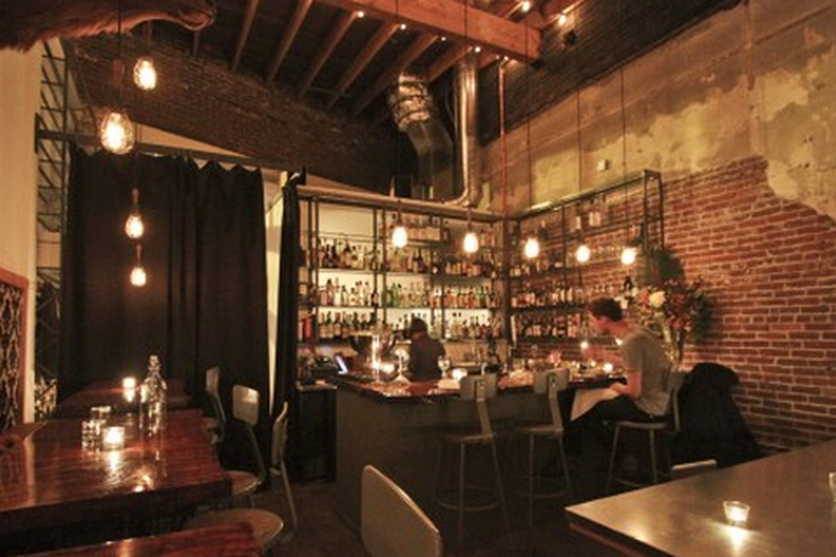Distilled Moustache Is Not Sf S Newest Speakeasy Eater Sf