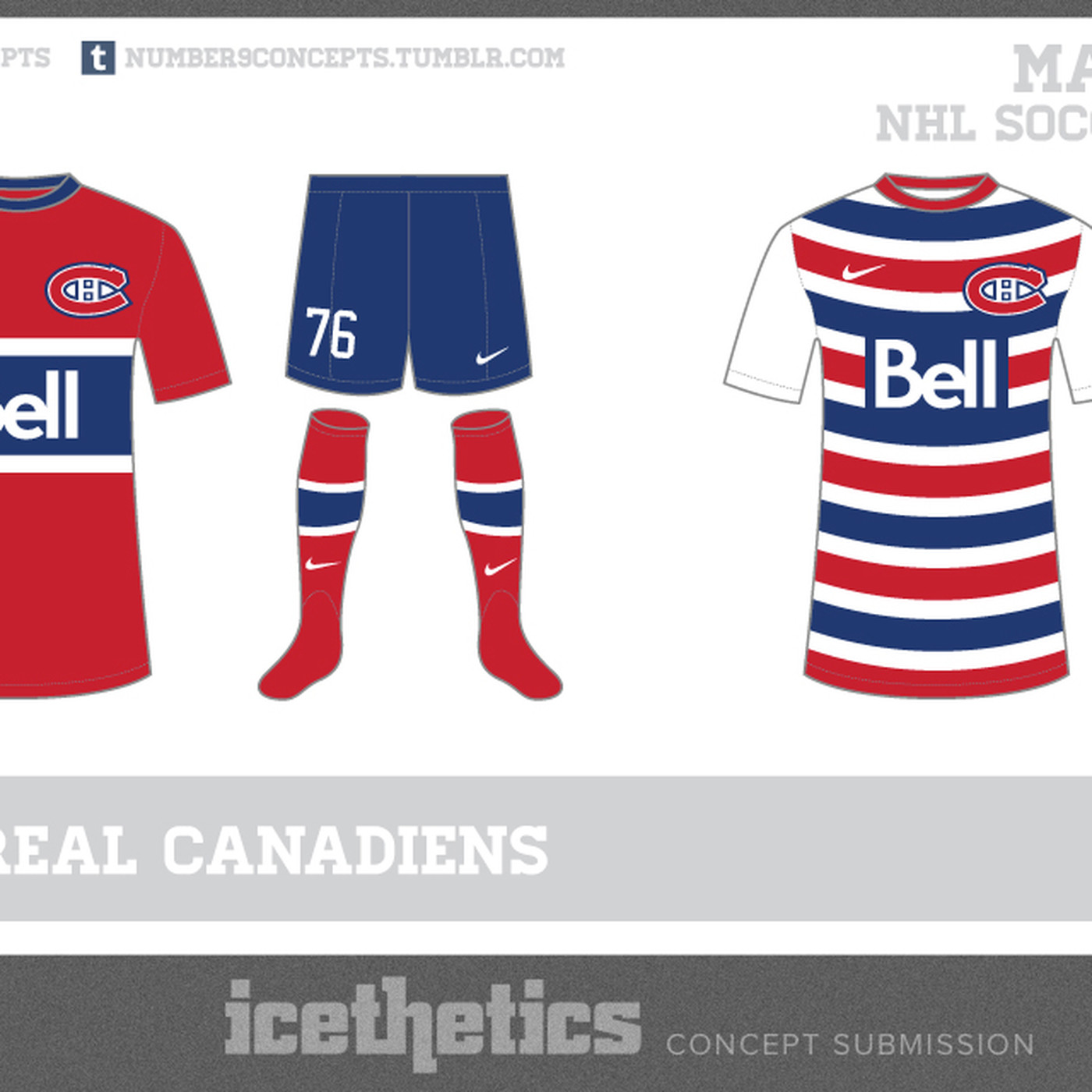 4ff6999f8 Would you wear a Canadiens soccer kit  - Eyes On The Prize