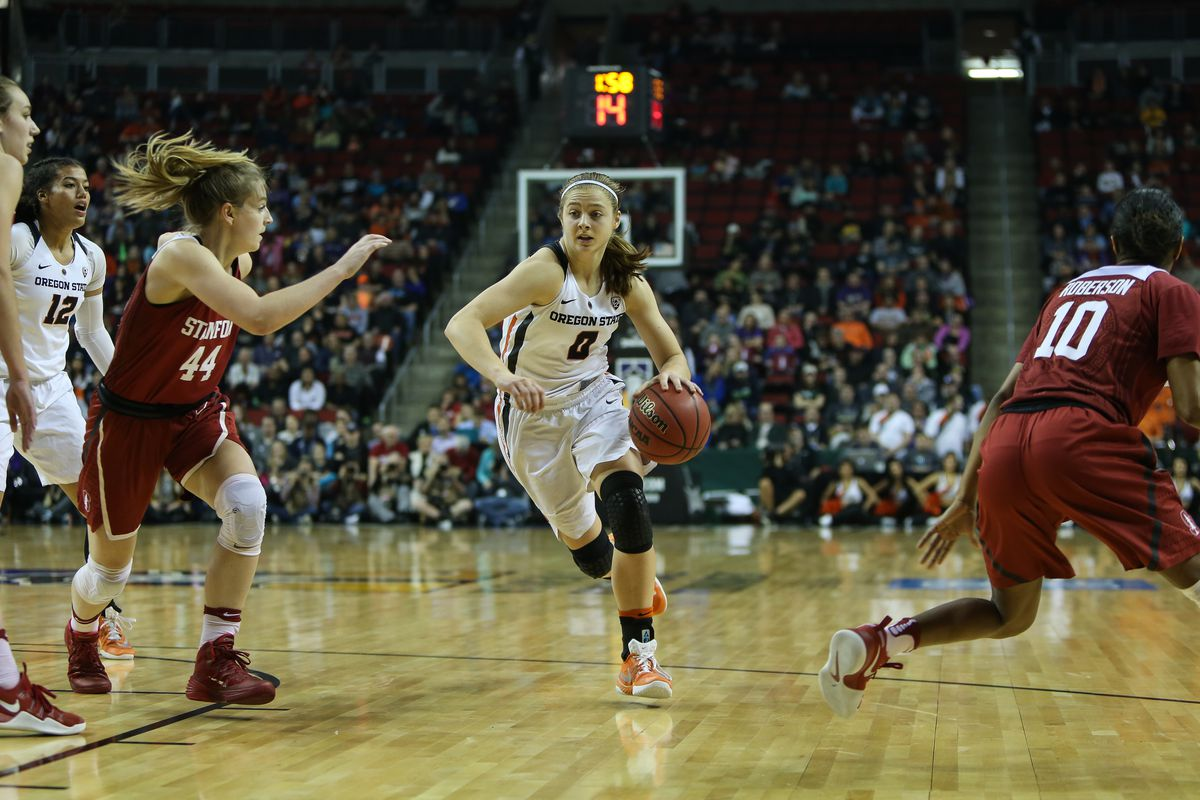 COLLEGE BASKETBALL: MAR 05 PAC-12 Women's Tournament - Oregon State v Stanford