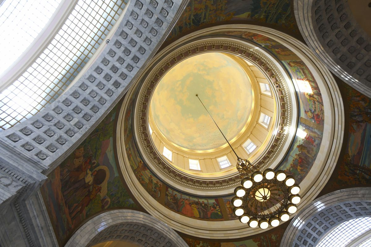 The rotunda of the Capitol in Salt Lake City is pictured on Friday, Jan. 25, 2019. As the first week of the 2019 legislative session wraps up, Utah senators are closing in on a final vote in their chamber on Medicaid expansion that alters the voter-approv