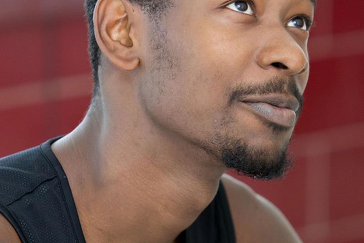 June 4, 2012; Westwego, LA, USA; Washington Huskies guard Terrence Ross talks to the media following a pre-draft workout with the New Orleans Hornets at the Alario Center.  Mandatory Credit: Derick E. Hingle-US PRESSWIRE
