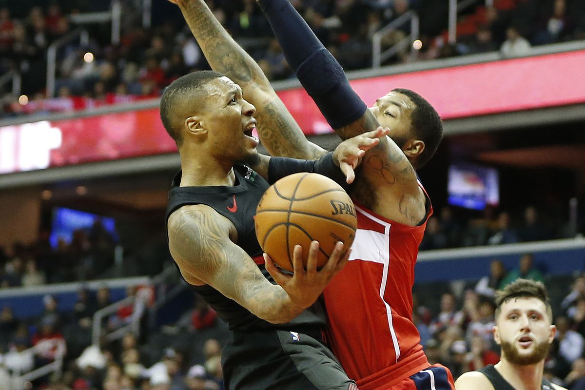 fc4e4c2c515 Another 40 from Damian Lillard Leads the Blazers to Victory over Wizards